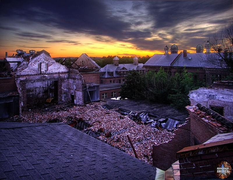'demolition by neglect', Taunton State Hospital (Taunton, MA)   Abandoned America