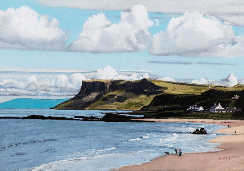 Fairhead, County Antrim - Paintings
