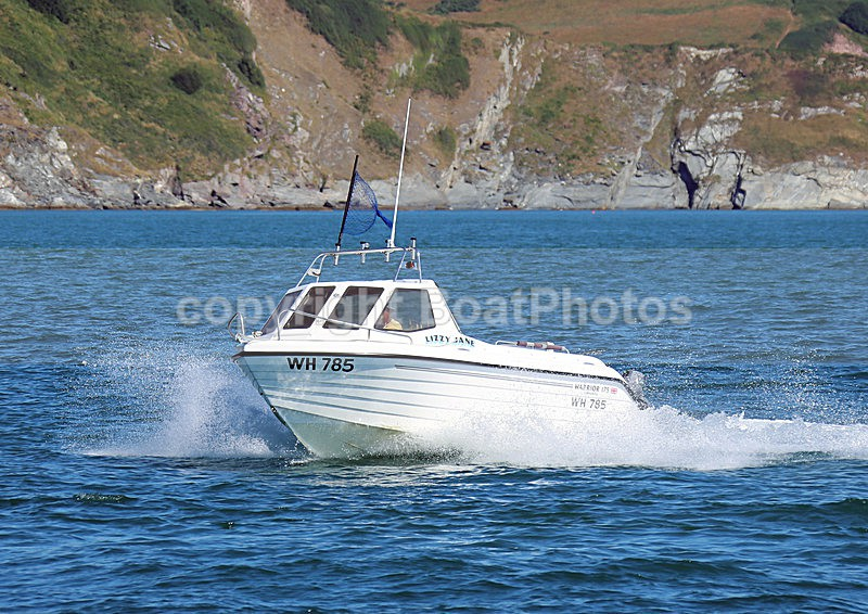 140729 LIZZY JANE WARRIOR 175 WT7A1555 - Work / Fishing Boats