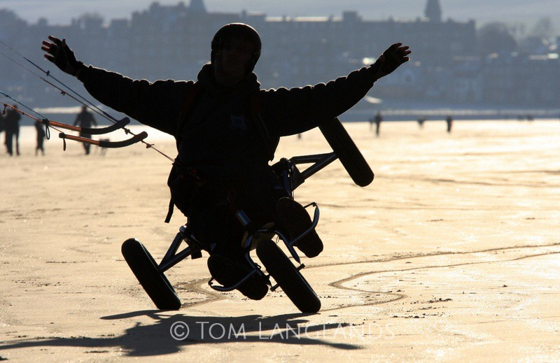 Traction Kiting - Sport