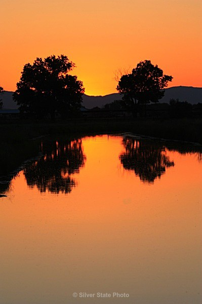 Canal Sunset - Nevada (mostly) Landscapes