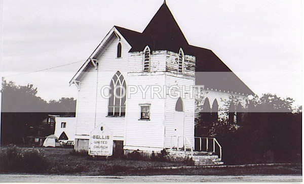 Bellis United Church BEL-174-2 - (Church Histories) Historic Churches & Temples