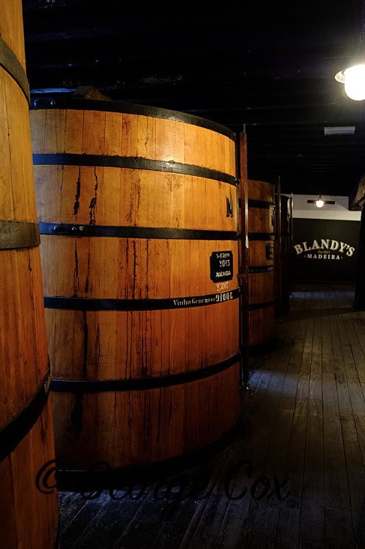 Blandys Madeira Wine Vat - Madeira