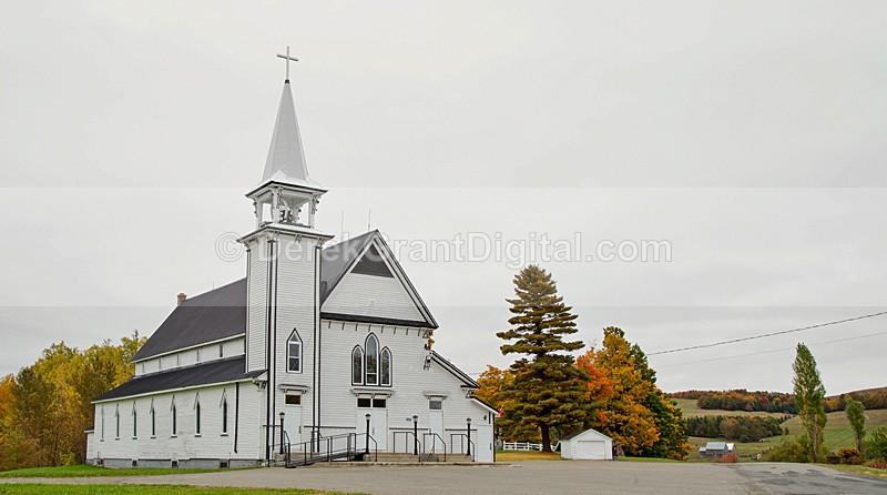 Saint John The Evangelist Church Johnville New Brunswick Canada - Churches of New Brunswick