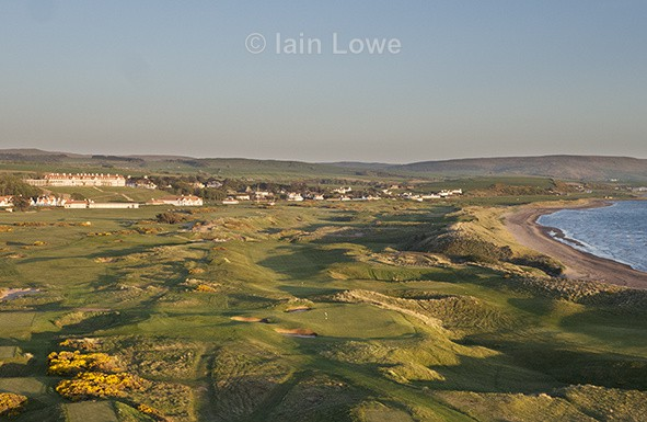 Trump Turnberry  15th par 3 aerial view - Trump Turnberry 2016 - 2017