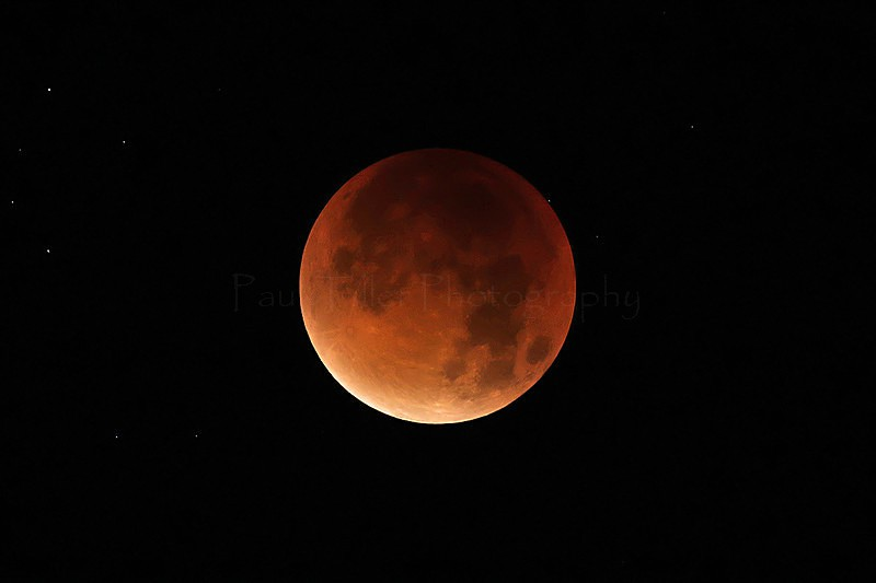 Red Moon Lunar Eclipse 28th September 2015 - Landscapes and places