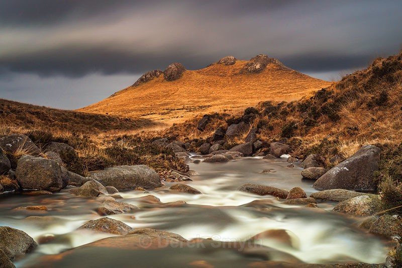 Storm Clouds Over Hen Mountain in the Mournes