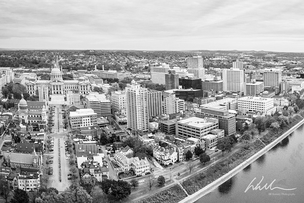 State Street Aerial - Harrisburg Area, Pennsylvania