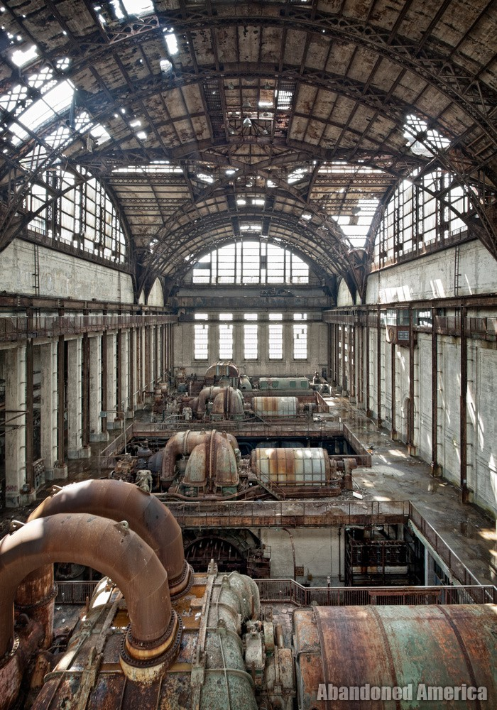 a certain kind of emptiness - Portside Power Plant*