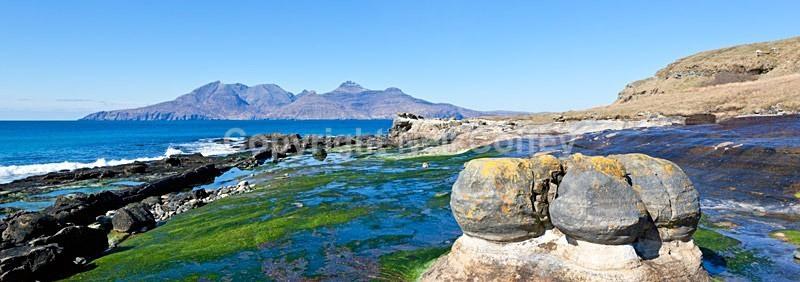Bay of Laig, Isle Of Eigg - Panoramic format
