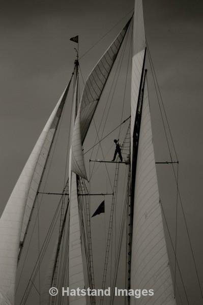 Hold on... - On the sea