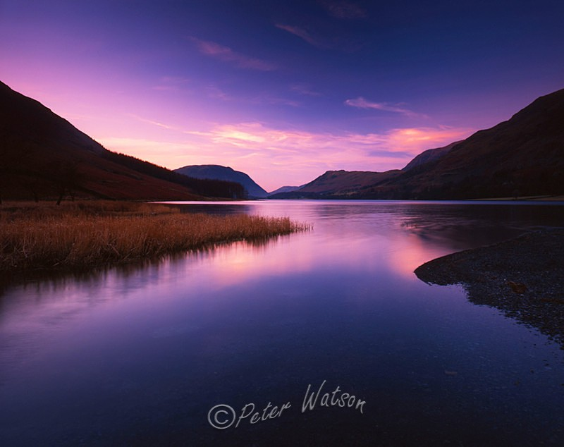 Buttermere The Lake District England - Sunsets & Skies