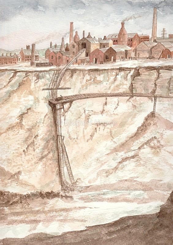 Daisy Bank Marlhole - Watercolour Paintings