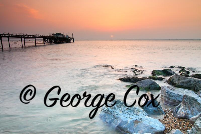 Totland Bay Sunset - Landscapes