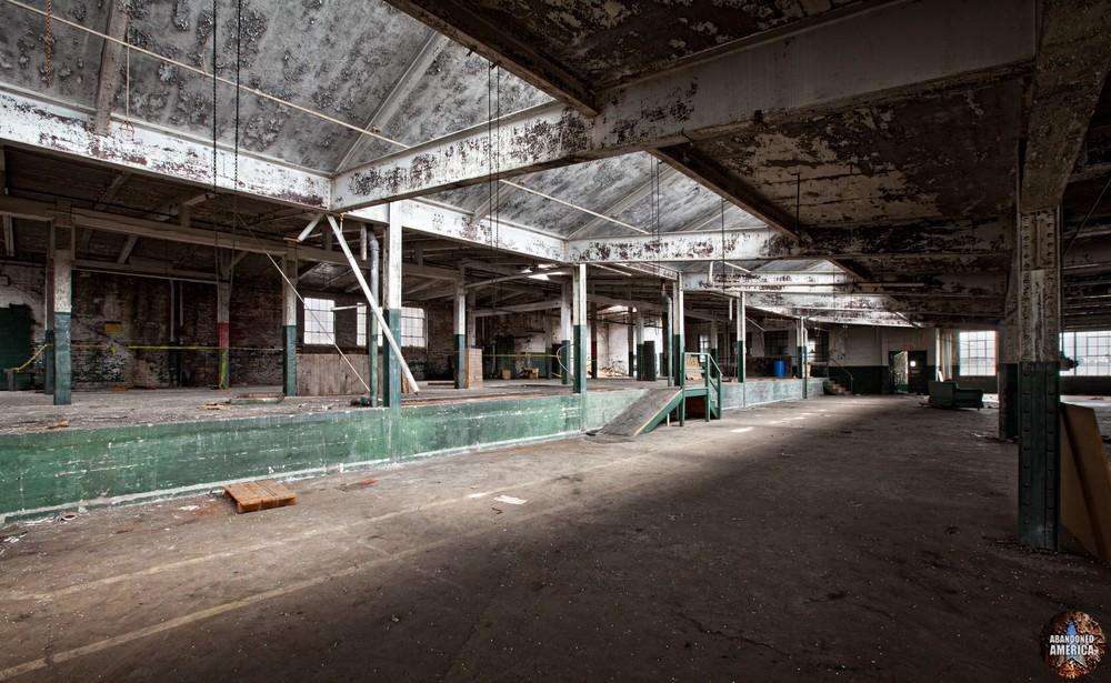 The Scranton Lace Company | Third Floor Loading Area - Scranton Lace Company