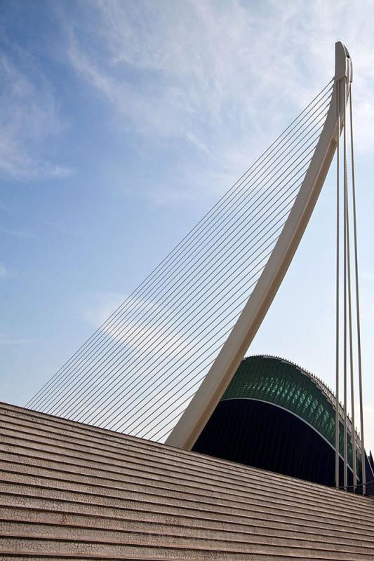 agora and bridge - Valencia