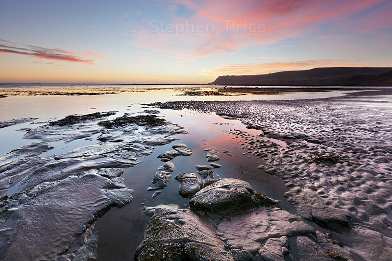 Pastel Dawn on the East UK Coast | Robin Hoods Bay Sunrise