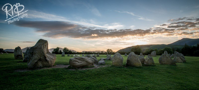 Castlerigg Stone Circle - Panoramic Images