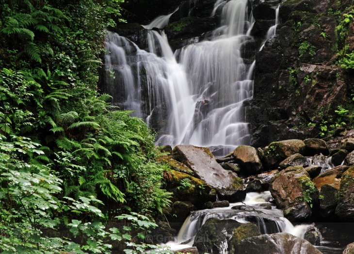 Torc Waterfall - Landscapes of Ireland - Kerry Lakes and Mountains