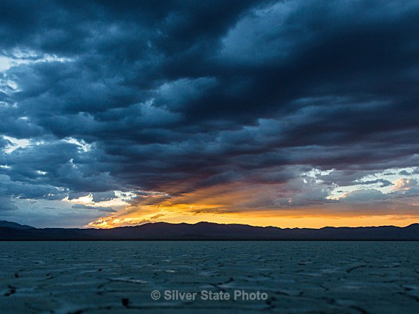 Sunset on the Playa #2 - Nevada (mostly) Landscapes