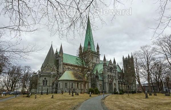 Trondheim Nidaros Cathedral - Norway Coast