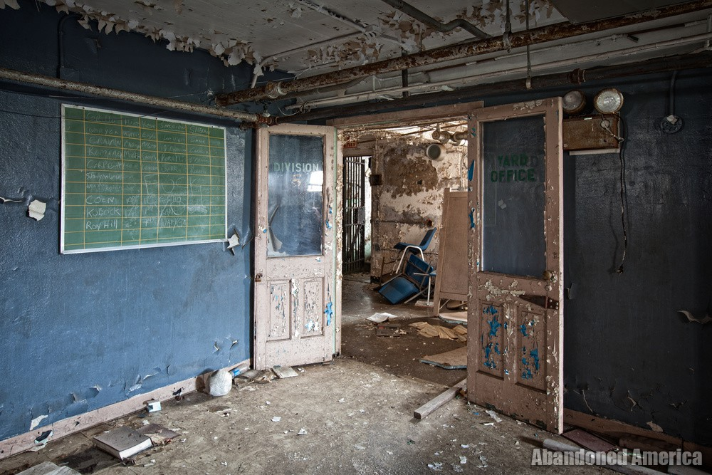 Directors names, Holmesburg Prison, Philadelphia PA | Abandoned America by Matthew Christopher