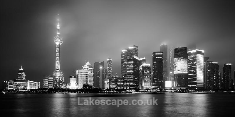 Shanghai_1162_B&W - China
