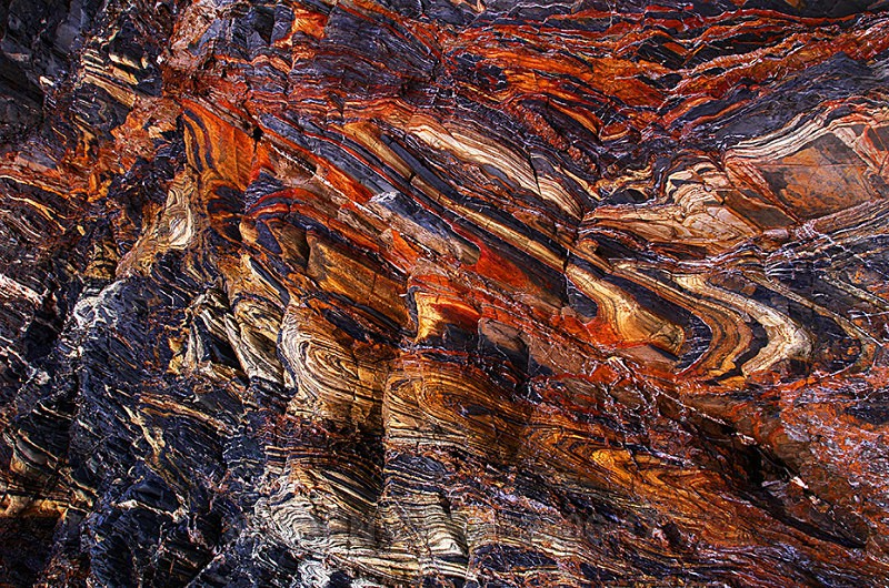 Second Valley Rocks-1-5577 - ABSTRACT DETAIL/CLOSE UP PHOTOS