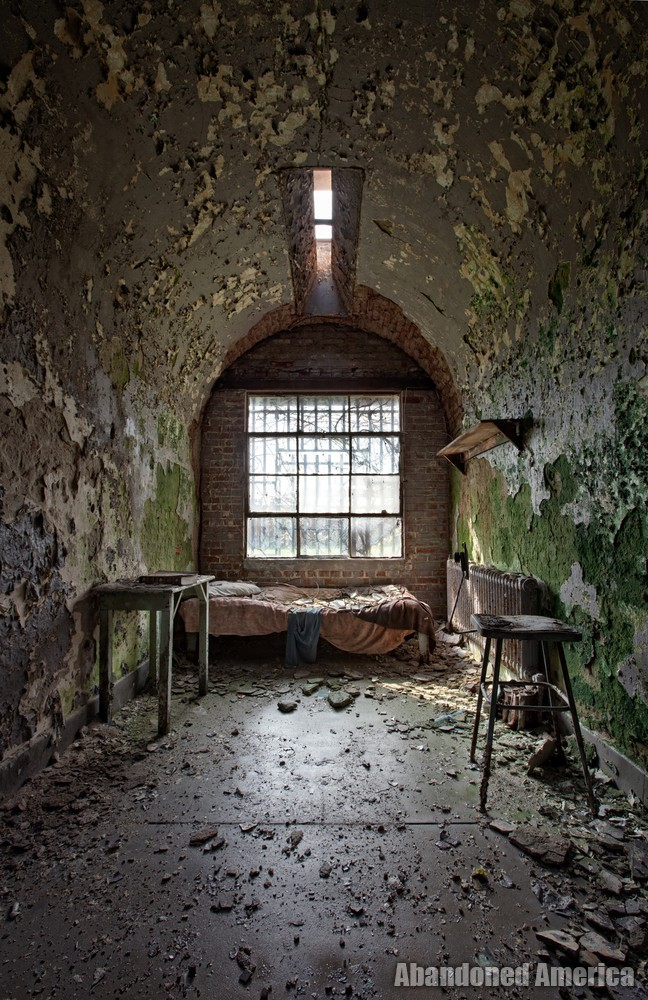 'until the day we're free', Holmesburg Prison, Philadelphia PA | Abandoned America by Matthew Christopher