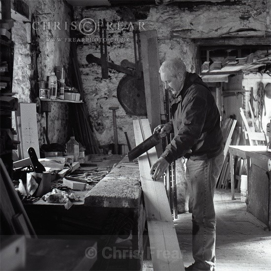 Village Carpenter - Black & White
