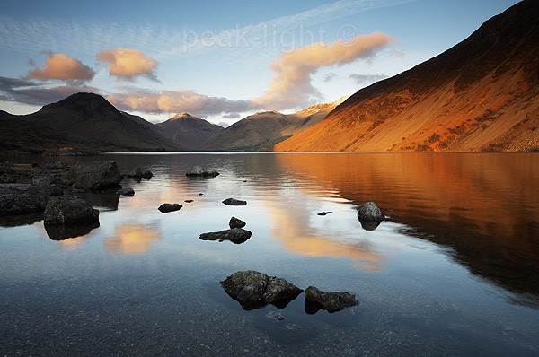 Wastwater Sunset - The Lakes