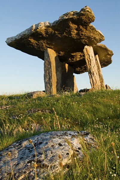 Poulnabrone - The Burren - Walk Into Prehistory
