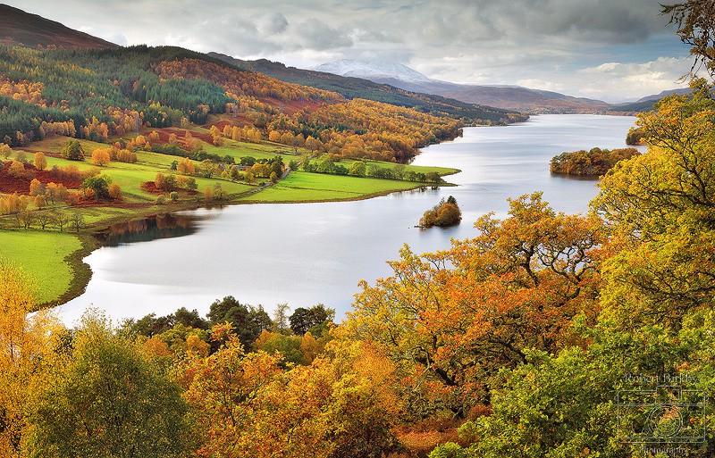 Queens View - Scotland Landscapes (also see Seascapes portfolio)