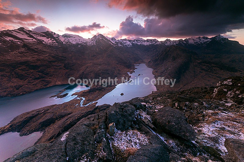 The Cuillin from Sgurr na Stri, Isle of Skye - Landscape format