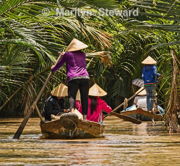 Backwater sampans - Exhibition acceptances