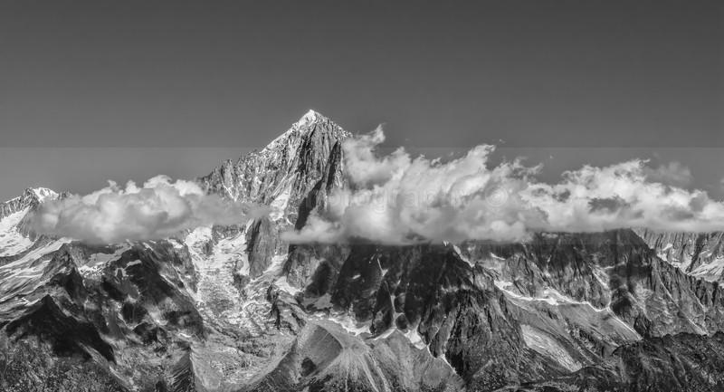 Aiuguille Verte 4122m, Mont Blanc Massif - Landscape & Seascape
