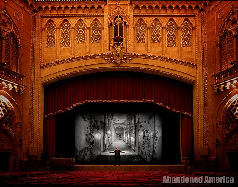 'the great and secret show'  | Abandoned America