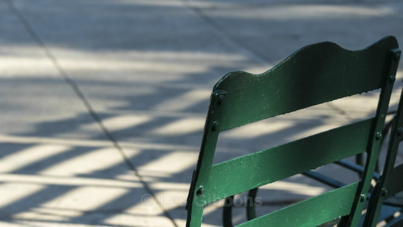 green chair - Cuba