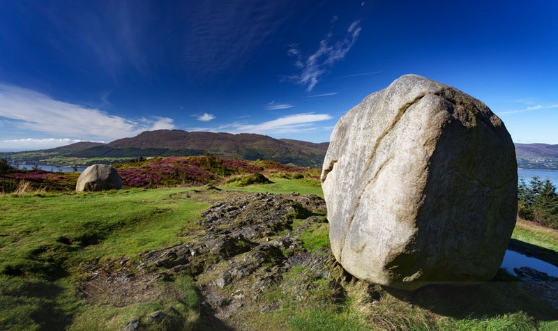The Cloughmore Stone - At the Foot of the Mountain