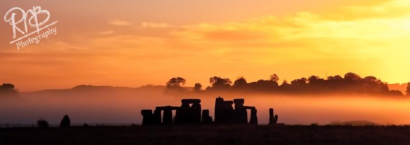 Stonehenge Sunrise - Panoramic Images