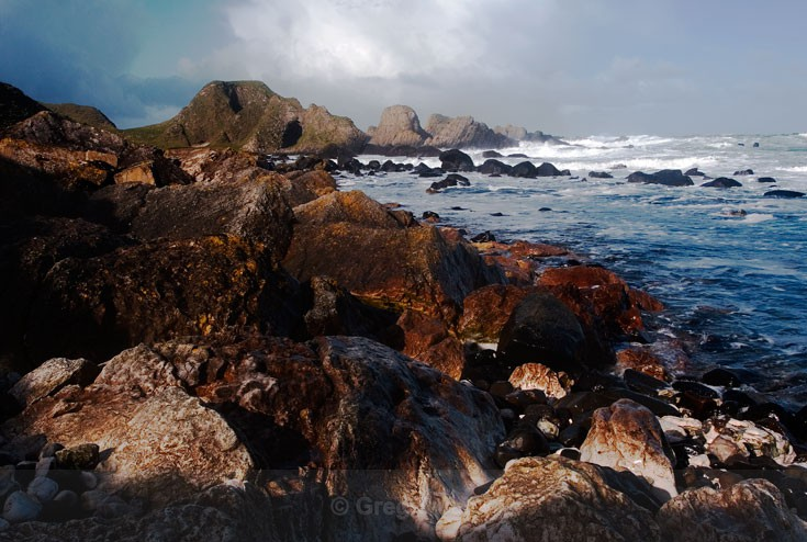 Rugged Coast - Causeway Coastal Route (Landscapes and Nature)
