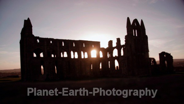 Abbey Sunset - Buildings / Structures