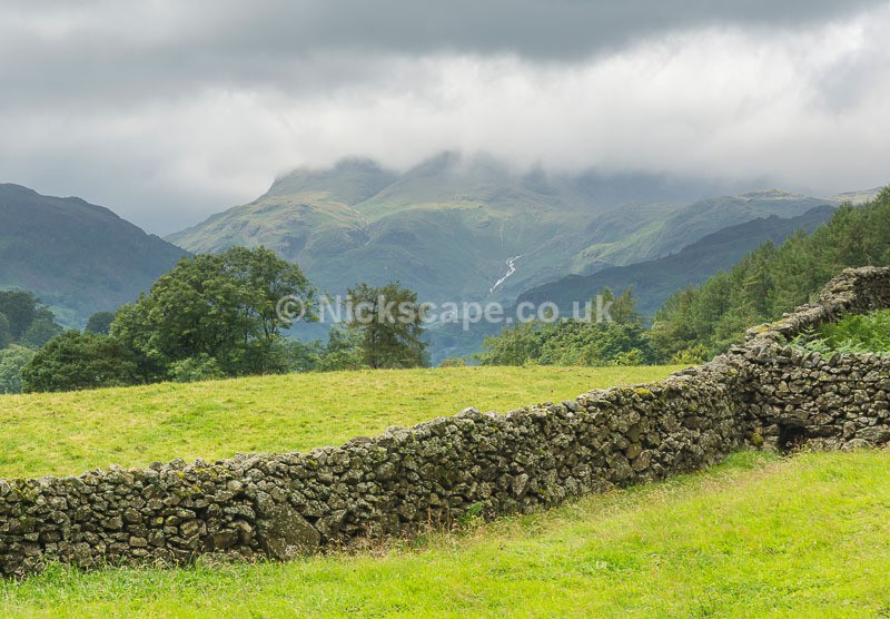Langdale Pikes from Loughrigg Fell - Lake District National Park - Latest Photos