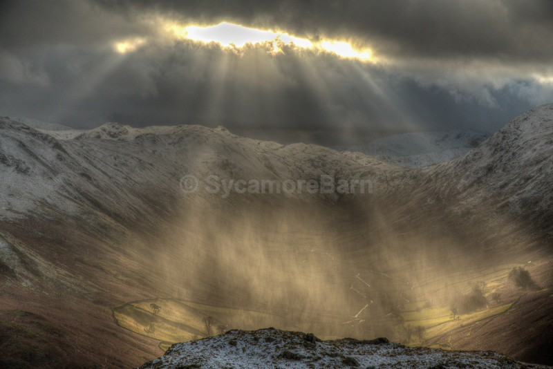 Mountain Weather - Martindale, Lake District - Moments of Light Gallery