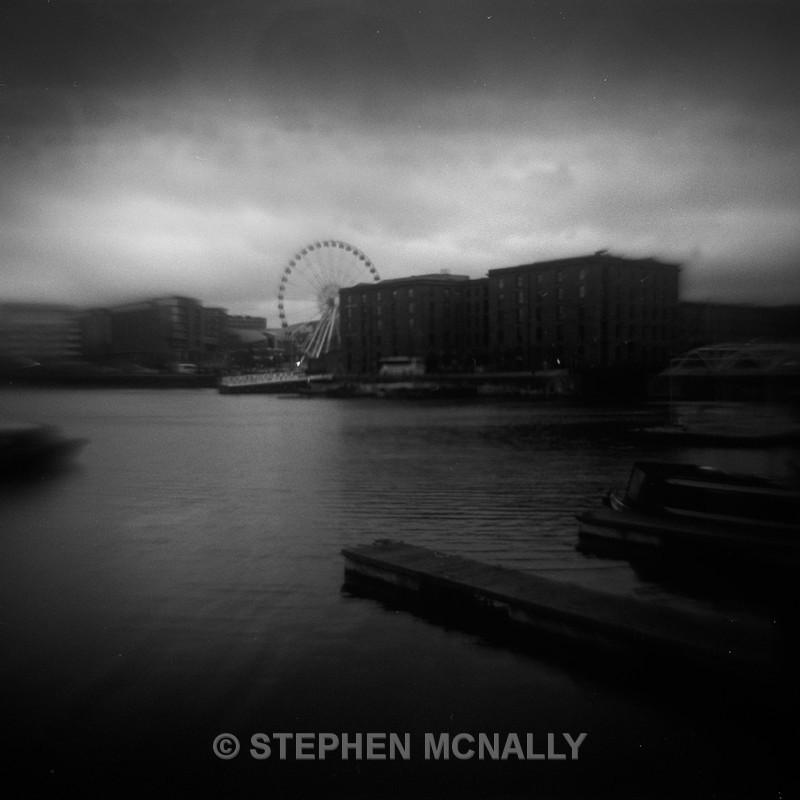 Salt House Dock Liverpool - Flipped Lens