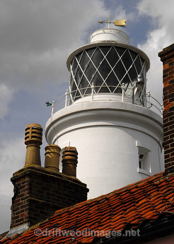 Lighthouse and roof - Southwold Suffolk