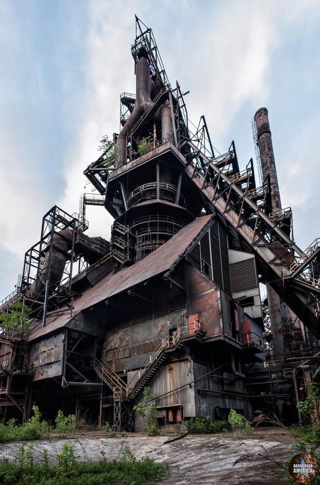 Bethlehem Steel (Bethlehem, PA) | Blast Furnace D - Bethlehem Steel
