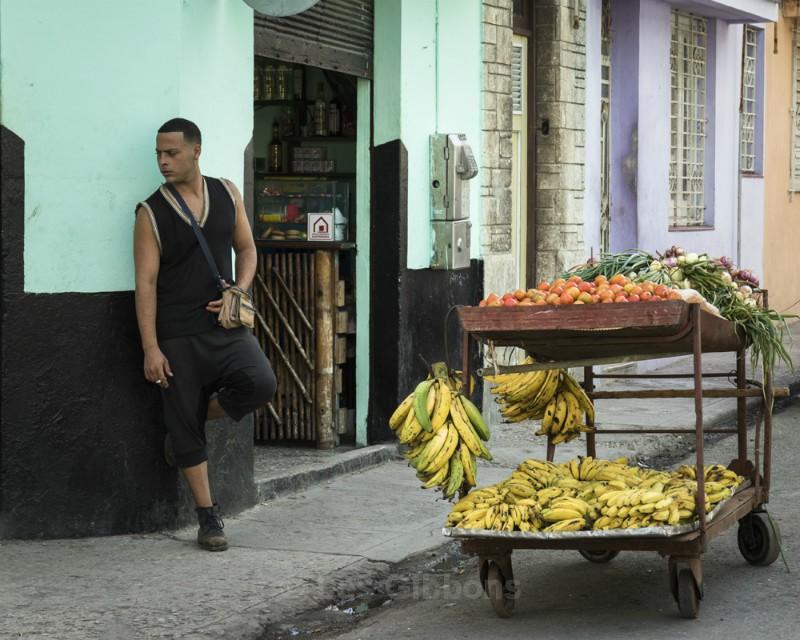fruit seller Havana - Cuba