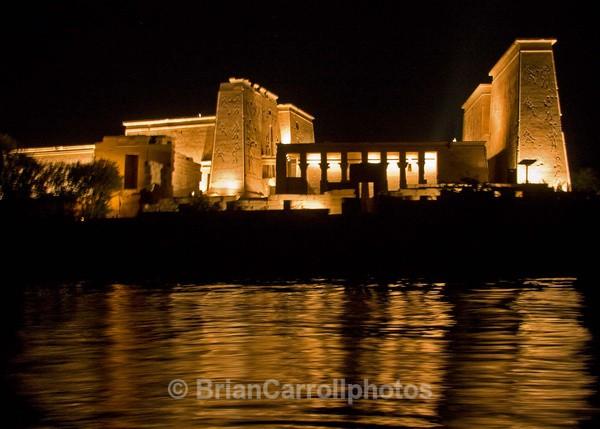 Temple of Isis, Philae, near Aswan Egypt - Egypt Nile Tour 08