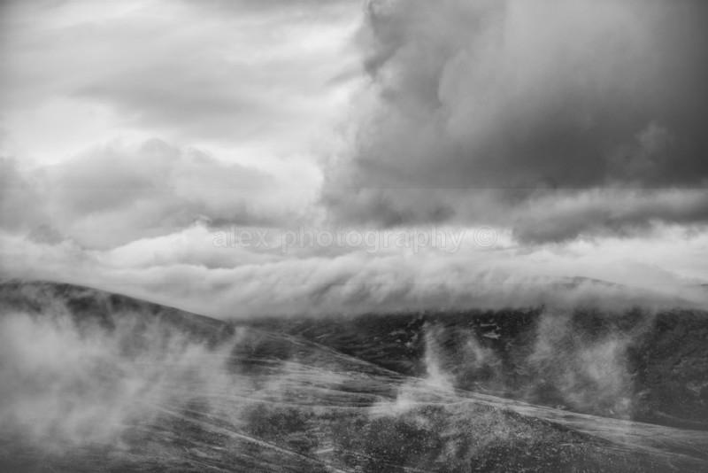 The Cairngorm curtain - Landscape & Seascape